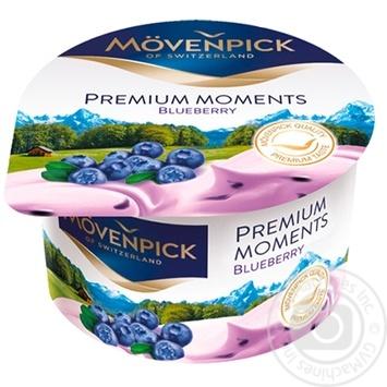 Йогурт Mövenpick Premium Moments Чорниця 5% 100г - купити, ціни на Метро - фото 1