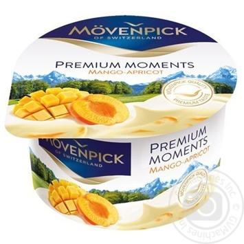Йогурт Mövenpick Premium Moments Манго-Абрикос 5% 100г - купити, ціни на Метро - фото 1