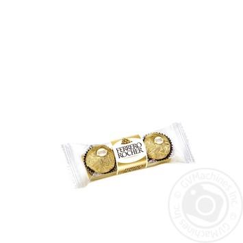 Конфеты вафельные Ferrero Rocher хрустящие 37.5г - купить, цены на Восторг - фото 4