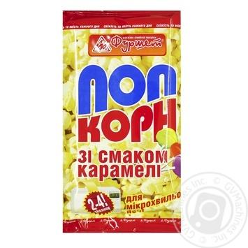 Попкорн Фуршет Карамель для микроволновой печи 90г