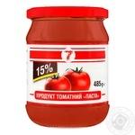 Паста томатная Семерка 485г