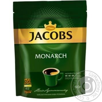 Кофе Jacobs Monarch растворимый 90г - купить, цены на Novus - фото 2