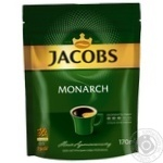 Jacobs Monarch instant coffee 170g - buy, prices for MegaMarket - image 1