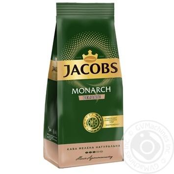 Кофе Jacobs Monarch Delicate молотый 225г - купить, цены на Фуршет - фото 1