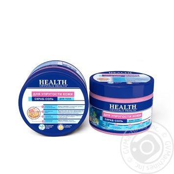 Crystals Health Body Scrub for Skin Elasticity 500g - buy, prices for Auchan - photo 1