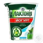 Йогурт Lactel Лактония с лактулозой Классический без добавления сахара 3,4% 280г - купить, цены на Фуршет - фото 1