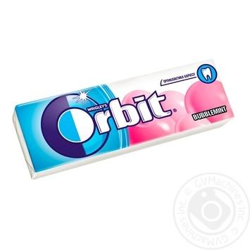 Chewing gum Bubblemint Orbit 14g - buy, prices for Furshet - image 1