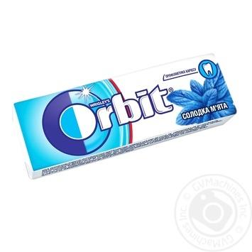 Резинка жевательная Orbit Сладкая мята 14г - купить, цены на Фуршет - фото 1