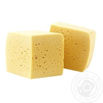 Сыр Сметанковый 50% Фуршет вес. - купить, цены на Фуршет - фото 1