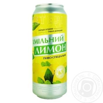 Teterev Hmilny Lemon Special Light Beer 6,5% 0,5l - buy, prices for CityMarket - photo 1