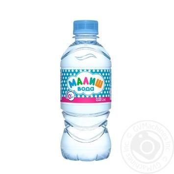 Вода Малиш питна дитяча негазована 0,33л - купити, ціни на CітіМаркет - фото 2
