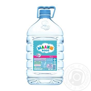 Вода Малыш для детского питания питьевая 5л - купить, цены на Varus - фото 1