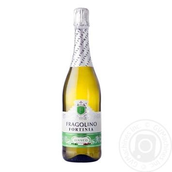 Напиток винный Fragolino Bianco белый напивигристий 750мл - купить, цены на Фуршет - фото 1