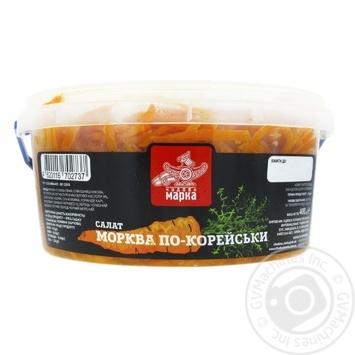 Salad carrot Chudova marka shredded 400g - buy, prices for Furshet - image 2