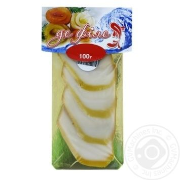 Seafood squid De filet cold-smoked 100g packaged - buy, prices for Furshet - image 1