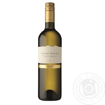 Walch Pinot Grigio Elena Wine White Dry 750ml - buy, prices for MegaMarket - image 1