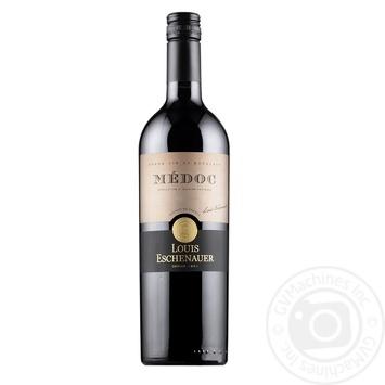 Вино Louis Eschenauer Medoc красное сухое 12.5% 0.75л - купить, цены на Фуршет - фото 1
