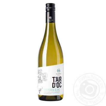 Вино Таир дОк Совиньон ДГ белое сухое 0.75л - купить, цены на Фуршет - фото 1