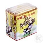 Печенье Бисквит-Шоколад 33 Коровы вкус сырка 55г