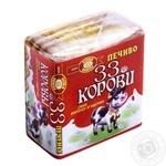 Печиво Бісквіт-Шоколад 33 Корови смак вареної згущенки 55г