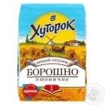 Мука Хуторок пшеничная 1кг