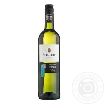 Вино Barbadillo Fino белое сухое 750мл