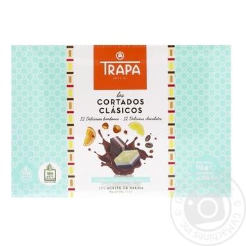 Ассорти шоколадных конфет Trapa с начинками 115г - купить, цены на Фуршет - фото 1