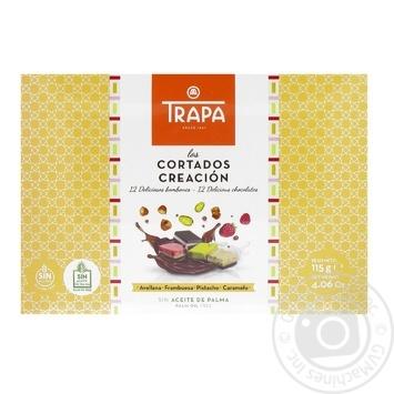 Конфеты Trapa Cortados Creacion шоколадные 115г