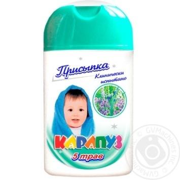 Присипка Карапуз дитяча 5трав 50г - купити, ціни на Ашан - фото 1