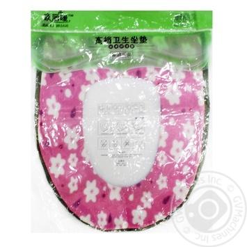 Microfiber toilet seat cover - buy, prices for Furshet - image 1