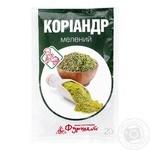 Кориандр Фуршет мелений 20г