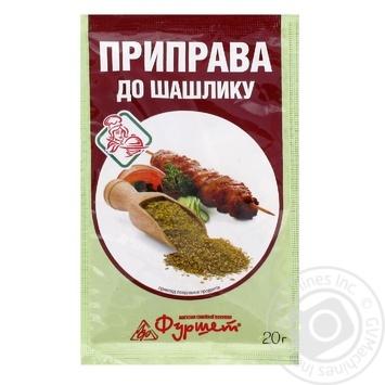 Приправа к шашлыку Фуршет 20г - купить, цены на Фуршет - фото 1