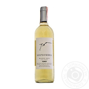 Sol and Sombra Dry White Wine 0.75l