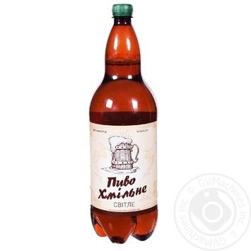 Пиво Суббота Хмельное светлое 2л
