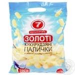 Палочки кукурузные Семерка со вкусом сгущенного молока 170г