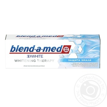 Blend-A-Med 3D White Whitening Therapy Enamel Protection Toothpaste 75ml - buy, prices for Auchan - image 1