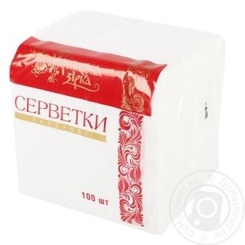 Салфетки Украинская Звезда 100шт - купить, цены на Таврия В - фото 1