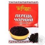 Перец черный Українська Зірка горошек 20г - купить, цены на Таврия В - фото 1