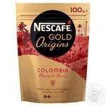 Кофе Nescafe Gold Origins Colombia Фруктовые нотки растворимый 100г