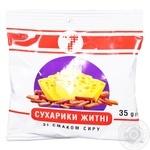 Сухарики Семерка ржаные со вкусом сыра 35г