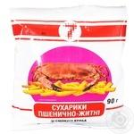 Сухарики Семерка пшеничные со вкусом краба 90г