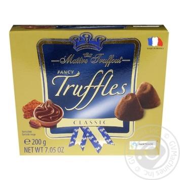 Цукерки Maitre Truffout Fancy Trussles Classic 200г