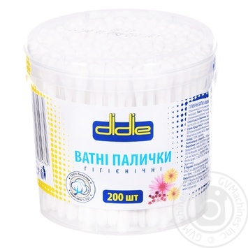 Didie Hygiene Cotton Buds 200pcs - buy, prices for Tavria V - photo 1