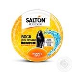 Віск для взуття із гладкої шкіри Salton чорний 75мл - купити, ціни на МегаМаркет - фото 1