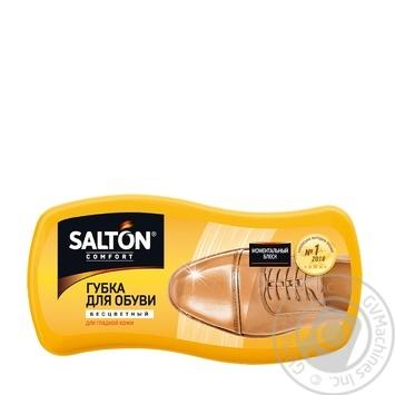 Губка для взуття із гладкої шкіри Salton безбарвна - купити, ціни на Novus - фото 1