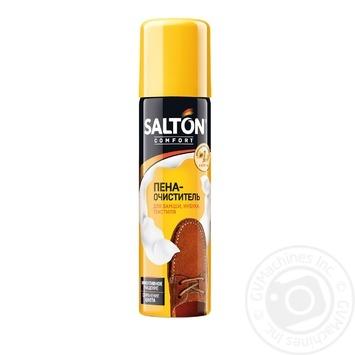 Піна-очисник Salton для виробів із замші, нубуку, текстилю 150мл - купити, ціни на МегаМаркет - фото 1
