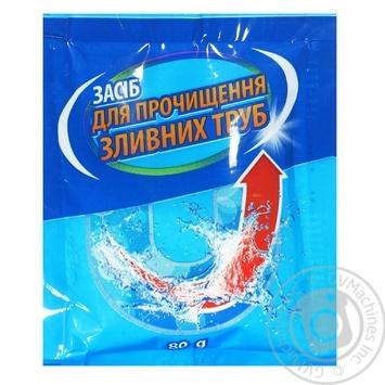 Очиститель для сливных труб Мистер Сноу 60г - купить, цены на Ашан - фото 2