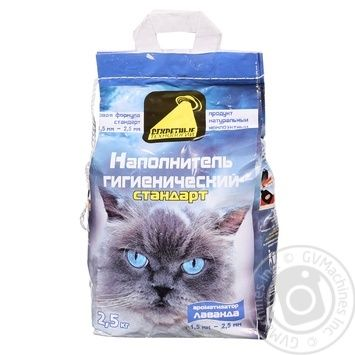 Наполнитель Секретные Технологии стандарт для домашних животных 2.5кг - купить, цены на Таврия В - фото 1