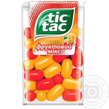 Tic-tac Fruit Mix Dragee 16g - buy, prices for MegaMarket - image 1