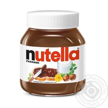 Ореховая паста Nutella с какао 630г - купить, цены на МегаМаркет - фото 1